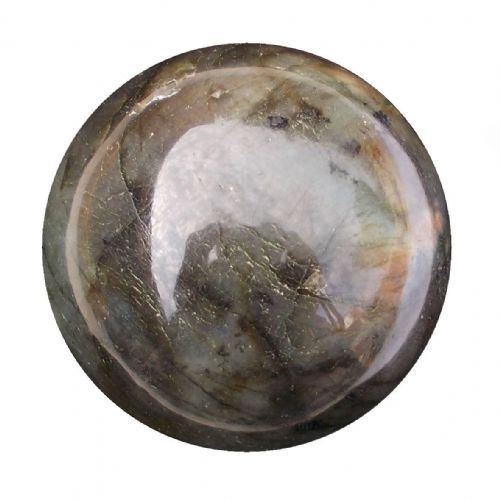 Labradorite Crystal Ball Scrying Divination Fortune Telling Sphere 58mm 280g LA12
